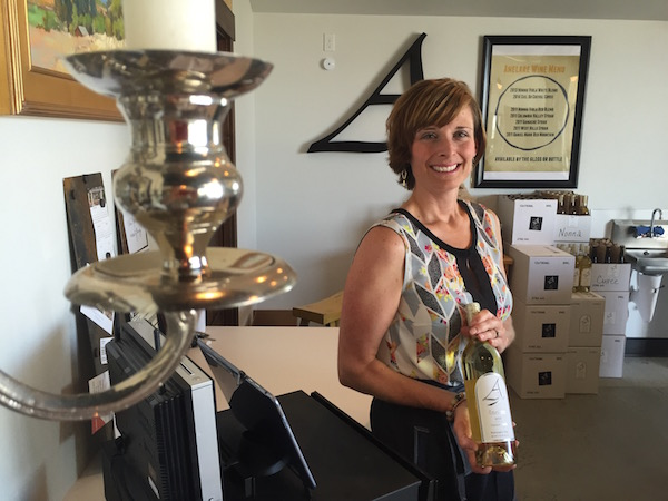 Anelare managing partner Kahryn Alexander prepares to ramp up production to 1,000 cases this year.