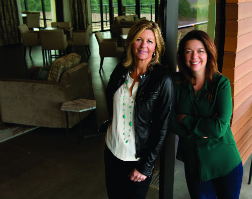 Anna Maria and Luisa Ponzi run Ponzi Vineyards in Oregon.