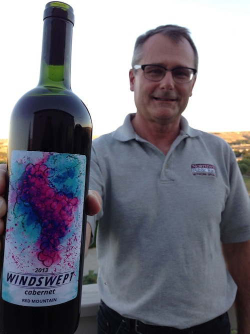Mike Rinker made the world's top amateur wine out of Red Mountain Cab.