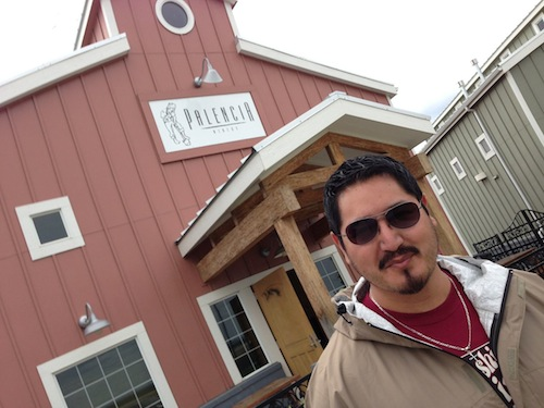 Victor Palencia owns Palencia Wine Co. in Walla Walla, Wash.
