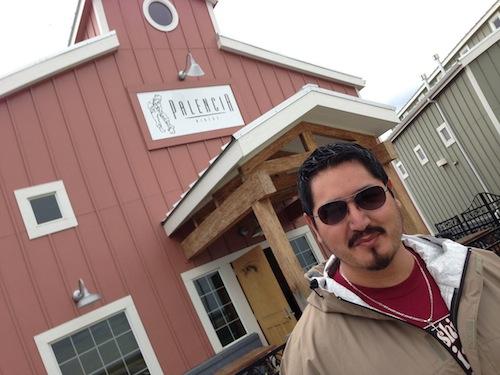 Victor Palencia owns Palencia Wine Co. in Walla Walla, Wash.