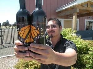 Victor Palencia makes Vino La Monarcha wines.
