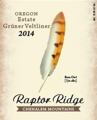 raptor-ridge-winery-estate-gruner-veltliner-2014-label