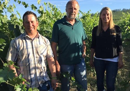 Lacey Lybeck will be vineyard manager at Sagemoor Vineyards.