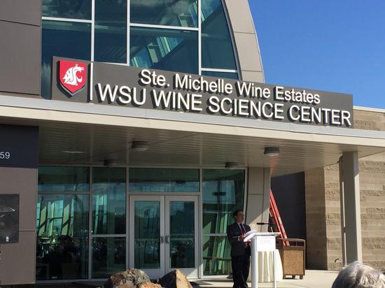 Washington State University Tri-Cities unveils the Ste. Michelle Wine Estates Wine Science Center on Thursday, June 4, 2015 in Richland, Wash. (Photo by Eric Degerman/Great Northwest Wine)