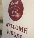 sunset judges sign feature 120x134 - NW wines shine at 2015 Sunset Wine Competition