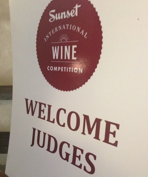 The Sunset Wine Competition took place in Menlo Park, Calif.