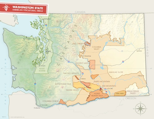 The Columbia Valley AVA is more than 11 million acres in size.