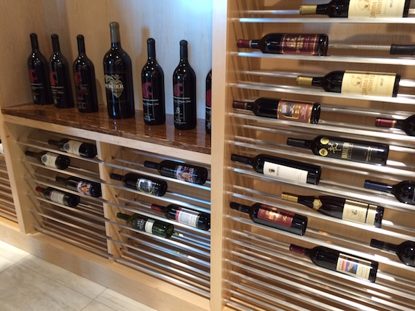 The Washington State Wine Commission Wine Library is beginning to fill up with historic bottles of Washington wine