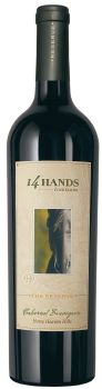 14 Hands Winery-2012-The Reserve Cabernet Sauvignon Bottle