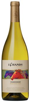 14 Hands Winery-2013-Chardonnay Bottle