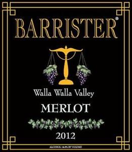 Barrister Winery-2012-Merlot