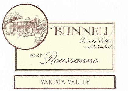 Bunnell Family Cellar-2013-Roussanne