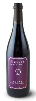 Dussek Family Cellars-2012-Syrah
