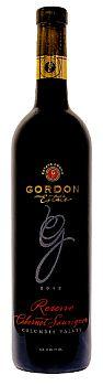 Gordon Estate-2012-Reserve Cabernet Sauvignon Bottle