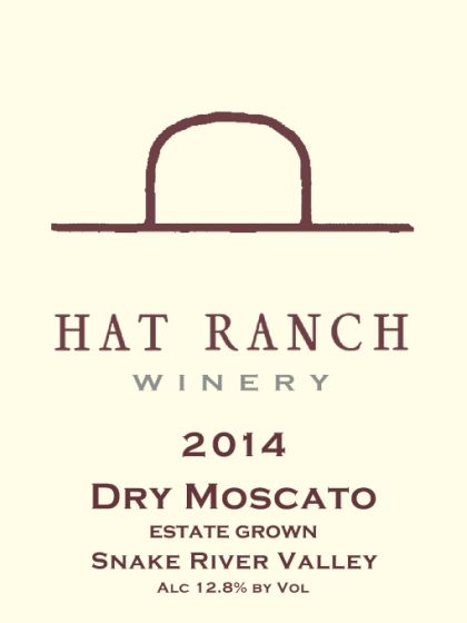 Hat Ranch Winery-2014-Dry Moscato