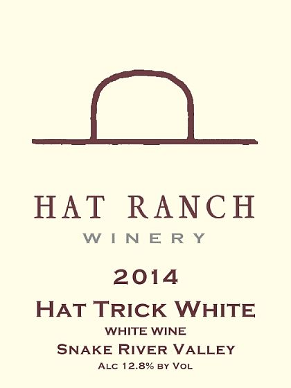Hat Ranch Winery-2014-Hat Trick White