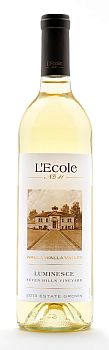 L'Ecole No 41-2013-Seven Hills Vineyard Estate Luminesce Bottle