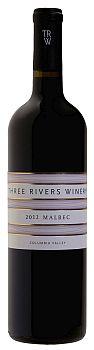 Three Rivers Winery-2012-Malbec Bottle
