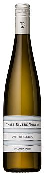 Three Rivers Winery-2014-Riesling Bottle