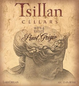 Tsillan Cellars-2014-Pinot Grigio