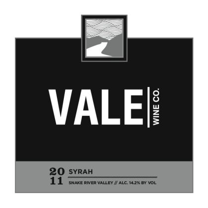 Vale Wine Co-2011-Syrah