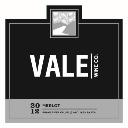 Vale Wine Co-2012-Merlot