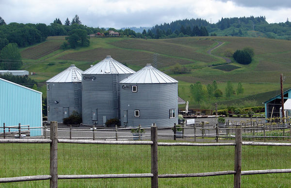 Abbey Road Farm in Carlton, Ore., is a working farm near acclaimed Guadalupe Vineyard.