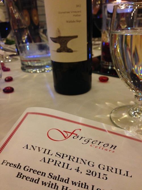Forgeron Cellars makes Anvil wines in Walla Walla, Washington.