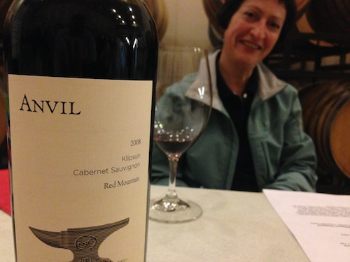 Marie-Eve Gilla is the head winemaker at Forgeron Cellars and also makes the Anvil upper-tier wines.