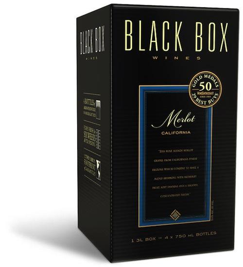 Black Box is a premium boxed wine.