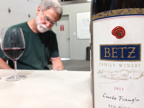 Bob Betz is the founder and winemaker for Betz Family Winery in Woodinville, Washington.