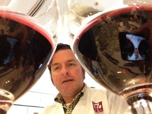 Christopher Sawyer was a judge at the 35th annual San Francisco International Wine Competition.