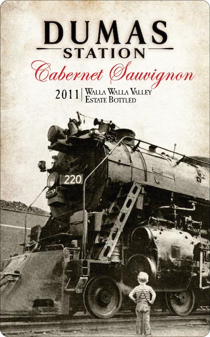 Dumas Station Wines 2011 Estate Cabernet Sauvignon label
