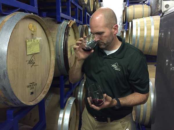Earl Sullivan of Telaya Wine Co., in Garden City, Idaho, produced a 2012 Cabernet Sauvignon from Fraser Vineyard.