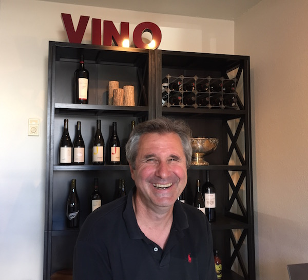Ed Fus, who operates Urban Crush Winery with his wife, Laureen O'Brien, will pour his Angel Vine Wines as well as those of D'Anu and Willful in his new Portland tasting room.