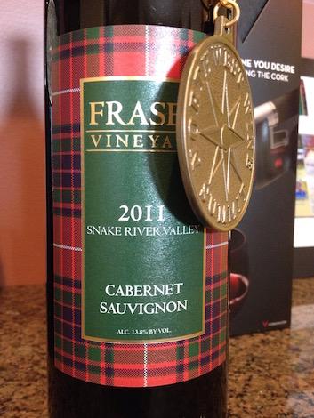 The award-winning Fraser Vineyard 2011 Cabernet Sauvignon was the final vintage of Cab produced under the Fraser Vineyard label..