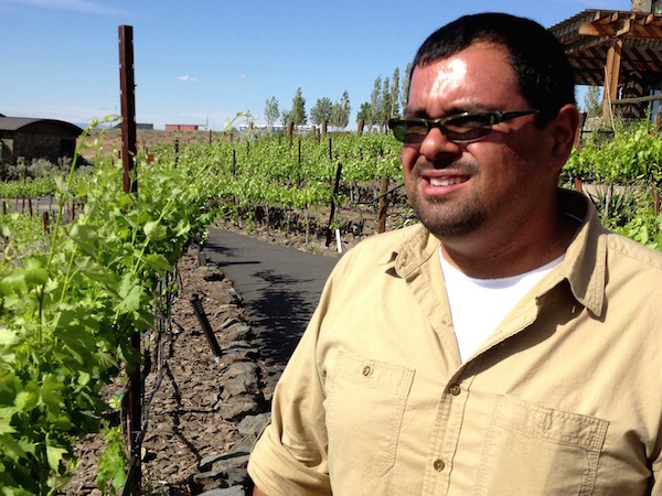 Freddy Arredondo, who trained at Walla Walla Community College and Cougar Crest, serves as winemaker of his family's Cave B Estate Winery near George, Wash., is one of of the Northwest's most beautiful destination wineries.