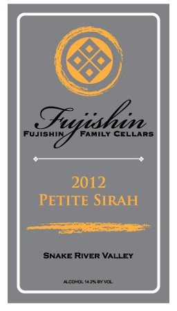 fujishin-family-cellars-petite-sirah-2012-label