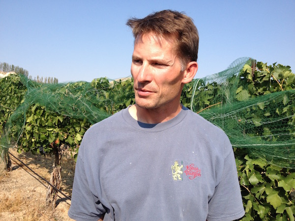 Snake River Valley winemaker Greg Koenig of Koenig Vineyard will purchase all the fruit from Fraser Vineyard fruit — Idaho's most expensive source of Cabernet Sauvignon — for the next four years.