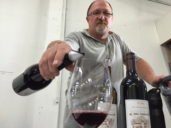 Joe Williams of D'Anu Wines will make his wines at Urban Crush Winery after several years at Carlton Cellars in Carlton, Ore.