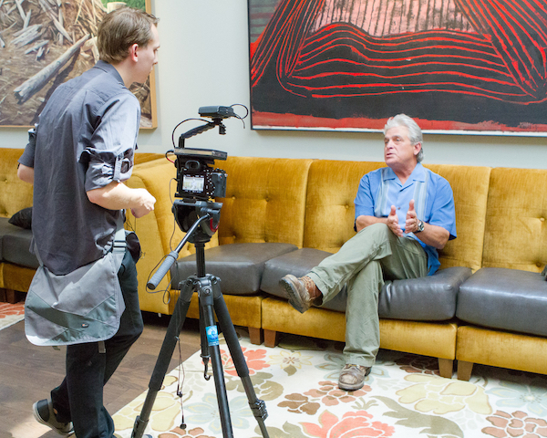 Ken Wright sits down for a 2015 interview at the Imperial Hotel in Portland as part of a historical tasting for Panther Creek Cellars.