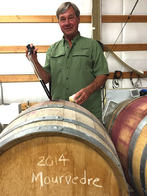 Larry Pearson enjoys growing and working with varieties beyond his popular Cabernet Sauvignon at Tapteil Vineyard and Winery on Red Mountain in Benton City, Wash.