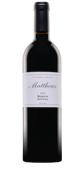 Matthews 2011 Reserve Red Wine