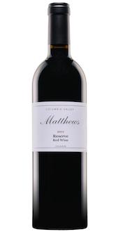Matthews 2011 Reserve Red Wine