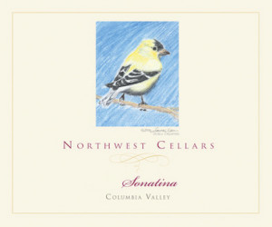 Northwest Cellars Sonatina label