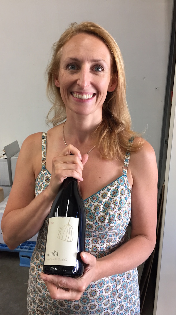 Pam Walden, owner/winemaker of Wilfull Wine Co., will be the largest producer at Urban Crush Winery in Portland