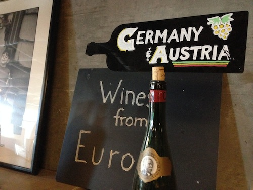 Pike & Western Wine Shop carries wines from around the world.