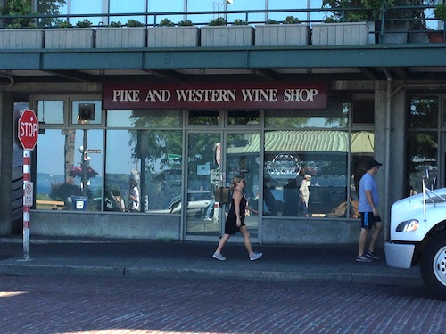 Pike & Western Wine Shop is in Seattle's Pike Place Market.