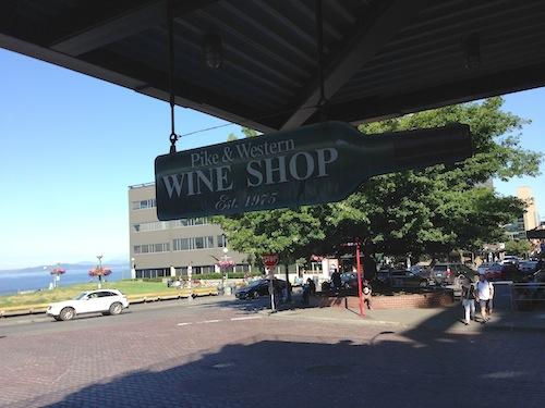 Pike & Western Wine Shop is in Seattle's Pike Place Market.